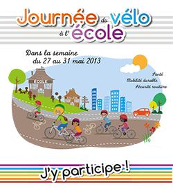 27 au 31 mai 2013- Journée Nationale du vélo à l'école