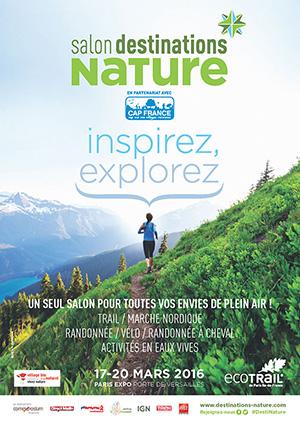 Affiche du salon Destinations Nature