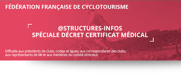 Structures Infos Decret Certificat Medical